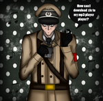 Richtofen's mp3 player by Sora-in-my-pants