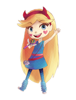 Star Butterfly by Ami-Magane