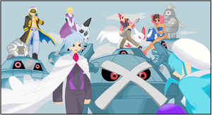Elite Four - Hoenn by MoonSwann