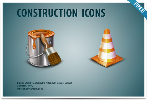 Construction Icons by mpt1st