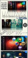 PS Vita Wallpaper Pack :Rain Theme: by NickatNite89