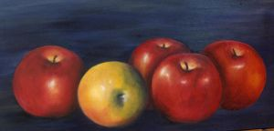 5 apples by Ameva59