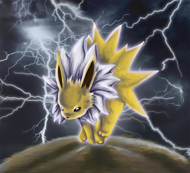 Jaques the Jolteon by Timatae