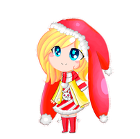 Christmas Fionna gif Pixel by lValery