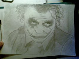 Quick drawing of the Joker by Kej01