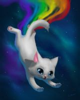 Nyan Cat by leamatte
