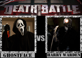 Ghostface VS. Harry Warden by Grimmjow-thesexta