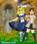 Lolita TARDIS Prancing in the Garden by DannimonDesigns