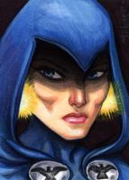 Sketchcard: Raven by Everwho