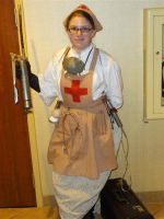 Steampunk Nurse by jcfreakish