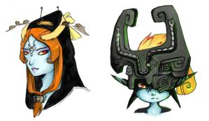 midna study by WING-mizuhashi