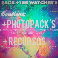 Pack +1OO Watcher's ! by brickofdream