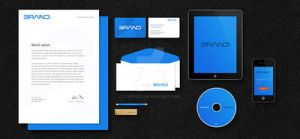 Corporate Identity PSD Mockup by toppixel