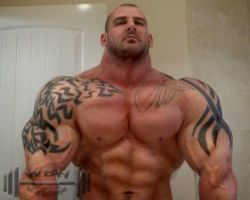 Airbrushed Muscle by wannabehuge