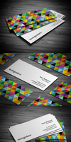 Creative Slim Business Card by FlowPixel