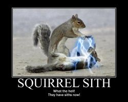squirrel Sith by Drack99