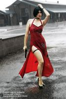 Ada Wong Cosplay in the Rain by CLeigh-Cosplay
