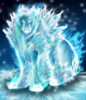 Ice Element Soul Of Wolf by ahyou1991