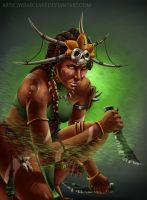 Diablo 3 - Witch Doctor by Wraeclast