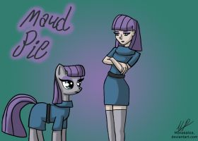 Mlp and Mlh - Maud Pie by monakaliza