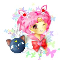 sailor chibimoon by xaznminigrlx
