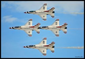 Thunderbirds Diamond by AirshowDave