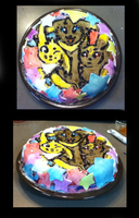 Jolteon-Umbravot-Umbreon Cake by Flashpelt1