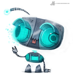 Day 783. Robot Gir Redesign by Cryptid-Creations