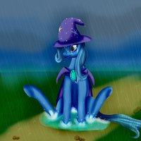 The Not-So-Great-And-Powerful Trixie by Crazyaniknowit
