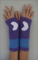 MLP Luna Season 1 Armwarmers with Cutie Mark by RebelATS