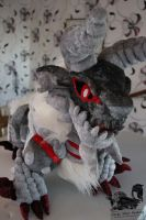 Stygian Zinogre Custom Plush 2 - Monster Hunter by Forge-Your-Fantasy