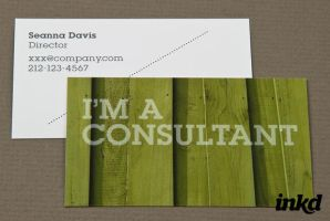 Home Maintenance Business Card by inkddesign