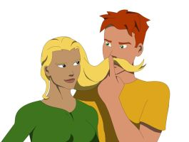 Artemis I'm Afraid I Mustache You a Question by IronicVeghead