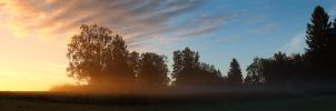 morning mist by JuhaniViitanen
