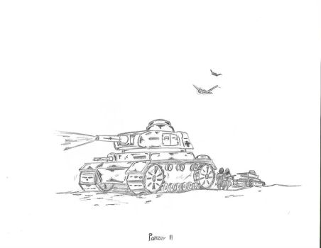 Panzer iii by metalord69