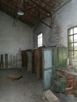 Abandoned cloakroom by louboumian