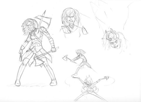 Decima-Sketches by Harry-Monster