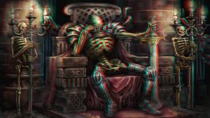 Skeleton's Throne 3-D conversion by MVRamsey
