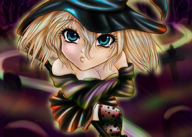 Halloween Becky QuickPaint by Sarky-Sparky