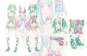 [CLOSED] Spring Macaroon Adoptable by Ethlenrain