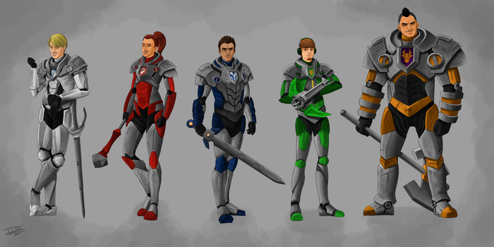 The Nexo Knights by joshuad17