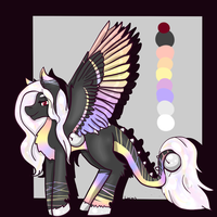 Rainbow Bell Pony Auction (CLOSED) by Noxious-Adopts