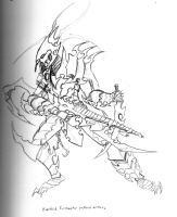 Dark Eldar Barbed Tormentor by Addinarr