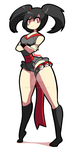 Furisode girl swimsuit - Pokemon by Diives