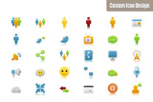 Pretty Office Icon Set part 13 by customicondesign