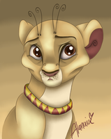 Savannah The Circus Lion by Alanaias
