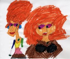 Collaboration with my Niece by Toongrrl