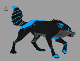 Custom Wolf for undeadwolf7 by Wyeth-Kitty