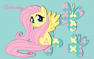 Cutie Fluttershy WP by AliceHumanSacrifice0