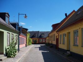 Streets of Lund by IGhengisKhanI
